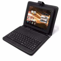 Forro Estuche Teclado Tablet 7 Pulgadas Micro Usb