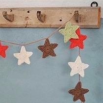 Guirnalda Crochet 15 Estrellas