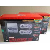 Super Nintendo Mini Classic Nuevo Y Sellado