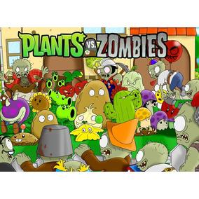 Plantas Vs Zombies Pvc 8 Figuras, Juguetes Coleccion