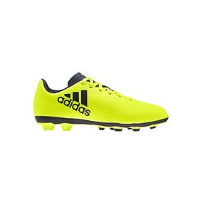 Tenis Futbol adidas X 17.4 J48913 Amarillo Niños