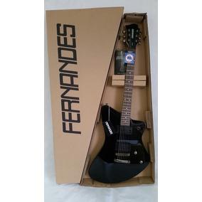 Guitarra Fernandes Vertigo Preto Vx08 Blk Nova Na Caixa