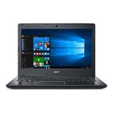 Laptop Acer Travelmate P2 - 14 - Intel Core I3-6006u - 4gb