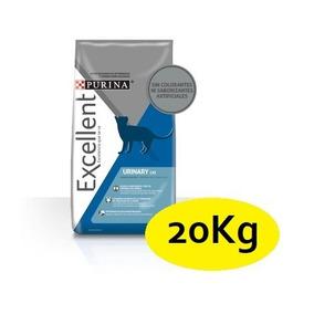 Alimento 20kg Purina Excellent Gato Urinary (10 Bolsas 2kg)