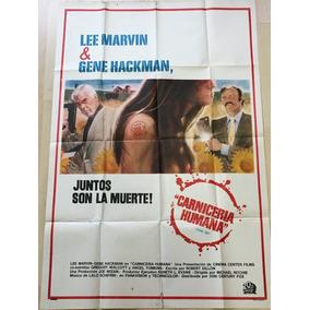 Afiche Poster Original Carnicería Humana 1972 Michael Ritchi