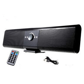 Som Bluetooth Superbass Soundbar Speaker Hometv Karaoke Usb