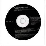 Cd Instalacion Cyber-shot Dsc-w510 Sony