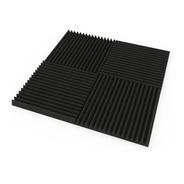 Paneles Acústicos Pack X 45 U. 3cm Espesor (5 Diseños Dif.)