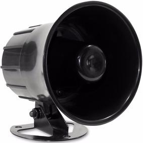 Sirene Corneta Alta Potência Para Alarme Casa - Carro 115 Db