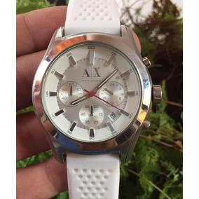 9a74e6a011f0 Reloj Armani Exchange Blanco Hombre - Joyas y Relojes en Mercado ...