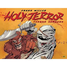 Hq Holy Terror Sagrado Frank Miller Panini Books Capa Dura
