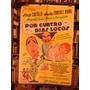 Por Cuatro Días Locos Alberto Castillo. Afiche Cine Original