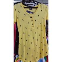Kit 5 Peças Blusinha Babylook Polo Camiseta Feminina Atacado