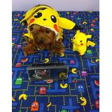 Disfraz Pikachu Pokemon Para Perros Y Gatos/ropa Para Perros