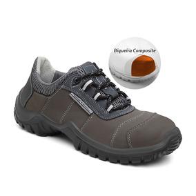 Sapato Segurança Em Couro Estival Energy Composite Gazl Enc