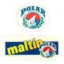 Calcomanía Maltin Polar Años 90