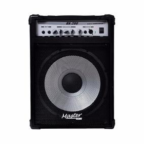 Cubo Master Áudio 200w Rms Para Contra Baixo Bx200