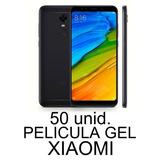 50 Peliculas Atacado Gel Xiaomi Modelos Revenda Fornecedor