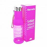 Garrafa 750ml  Rosa Sonhe Acredite E Conquiste 10070714