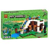 Minecraft Lego Alterno Caída Agua Alex Enderman Pig
