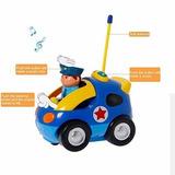 Carro De Policía Control Remoto Para Niños Entrega 12 Dias