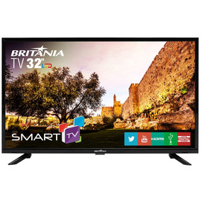Tv Britânia 32 Led Smart Com Netflix