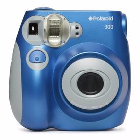 Cámara Instantánea Polaroid 300 Analógica Azul Imprime