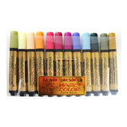 Caneta Magic Color Marcador Permanente C/12 Cores 642-0