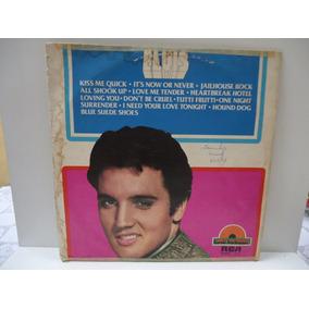 Lp Elvis Presley- Disco De Ouro - Rca - By Trekus Vintage