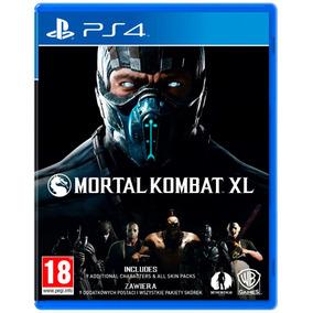Mortal Kombat Xl Ps4 Original Fisico Sellado Nuevo Alclick