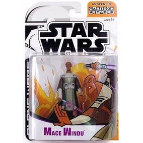 Mace Windu - Star Wars Clone Wars Animated - A