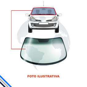 Vidro Parabrisa Ford Fiesta/courier - Degrade