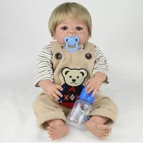 Bebê Reborn Barato Boneco Reborn Menino Silicone Fretegrátis