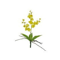 3 Chuvas De Ouro Artificiais Buquês Arranjos Orquídeas Flor