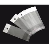 Saquinho Plástico Adesivado Com Furo - Tam. 6x12 / 2000 Unid