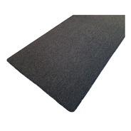 Carpeta Alfombra Protector Boucle Gris Oscuro 69 X 200 Cm