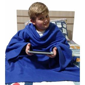 Cobertor Com Mangas Infantil - Pronta Entrega