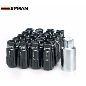 Lug Nuts Epman Porcas Em Aluminio Roda Segredo Anti Furto Pr