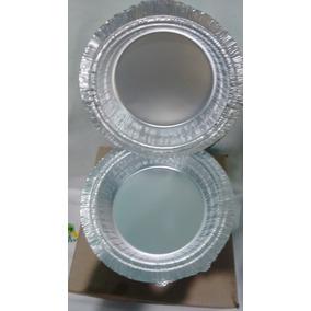 Embalagem Marmitex Alumínio, Nº 8 Manual - 100 Unds
