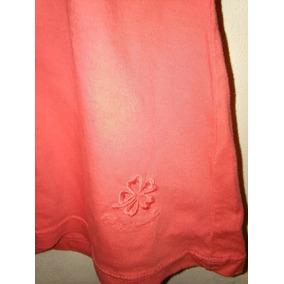 Remera Musculosa Algodon Talle S Marca Proximo Color Coral