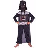 Disfraz New Toy´s Wars Darth Vader 3-4 Años Talle 0 70-80cm