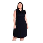 Vestido Plus Size Kit Com 2 Moda Evangélica Midi  Festa