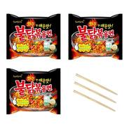 03 Lamen Coreano Samyang Sabor Frango Hot Super Picante