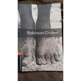 Libro Inglés Robinson Crusoe De Daniel Defoe Usado