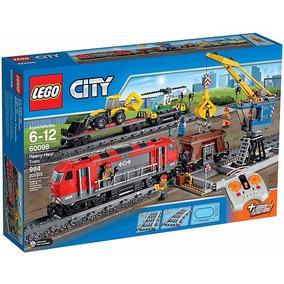 Lego City 60098 Trem De Carga Pesada, Lançamento, Novo