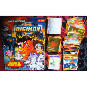 Álbum Digimon Completo Figurinhas Pra Colar Navarrete 1999