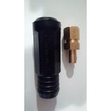Conector Dinse 10-25 P Maquina De Soldar Inverter 160-200amp