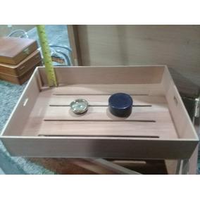 Caixa Umidora Para Charutos Preta 38 X 28 X 12 Cm