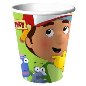 Handy Manny Suministros De Fiesta 9oz Goblets Party Cups -
