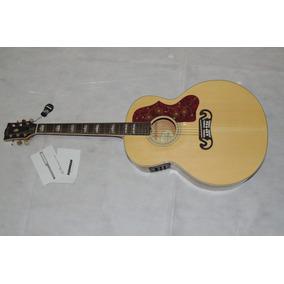 Violão Gibson J200 Deluxe Sem Cutway Eletrico China